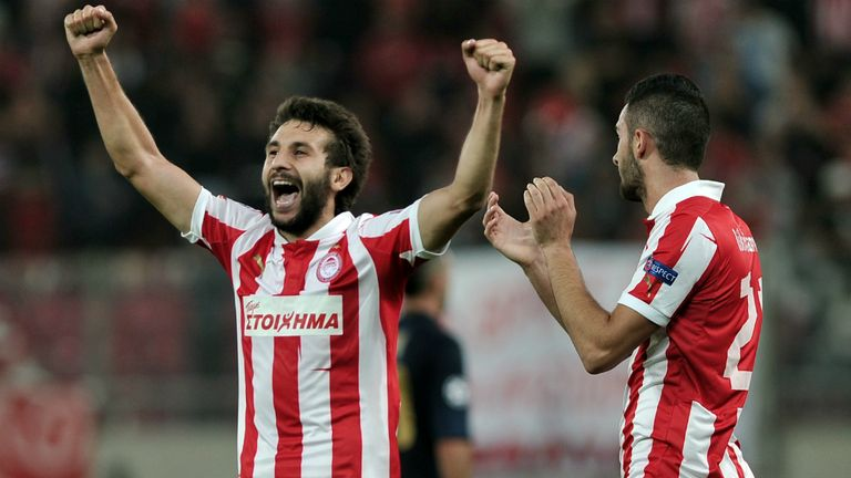 Djamel Abdoun: Wants to quit Olympiakos this summer and is eyeing a move to England