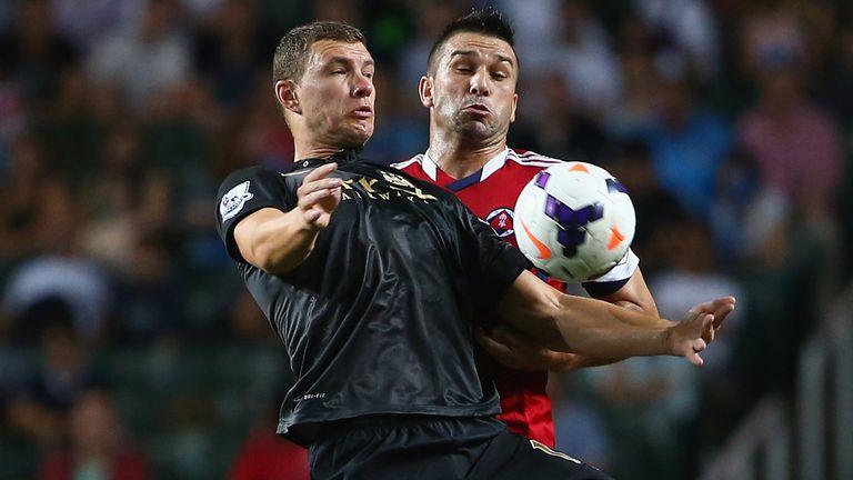 Edin Dzeko: Scored the only goal of the second semi-final