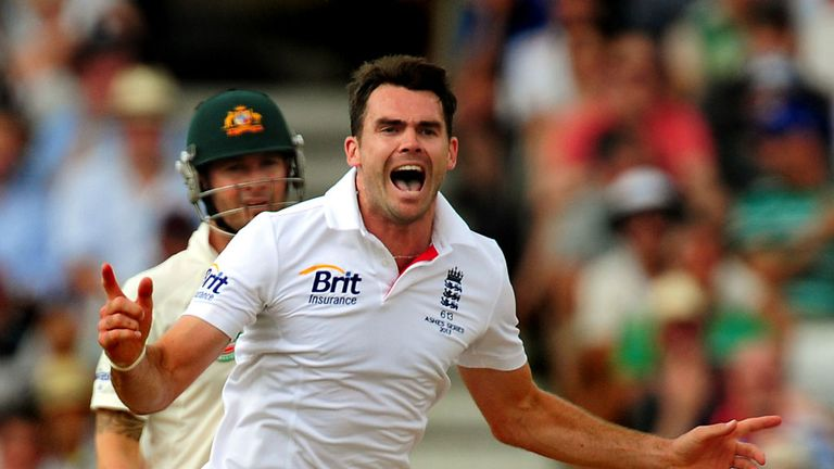 James Anderson: Wants to stick the boot into the Aussies