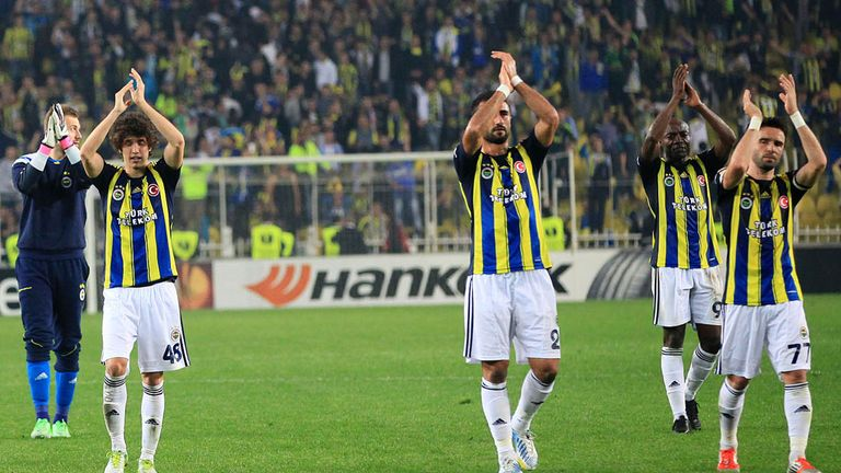 Fenerbahce have been banned from continental competition