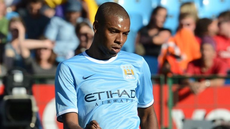 Fernandinho: New arrival from Shakhtar Donetsk this summer