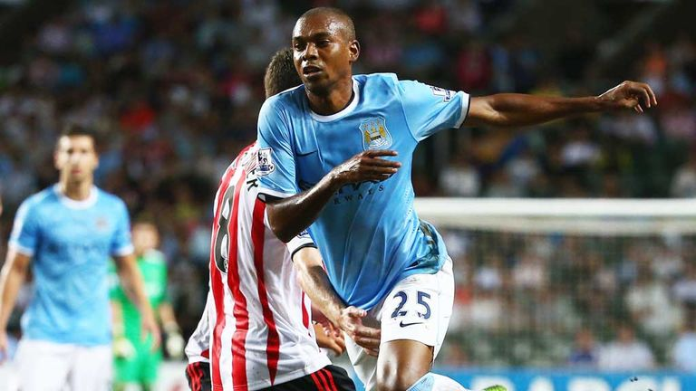 Fernandinho: Looking for a bright start to the new season at Manchester City