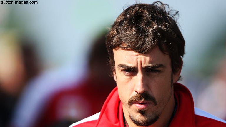 Alonso will start Sunday's race from eighth