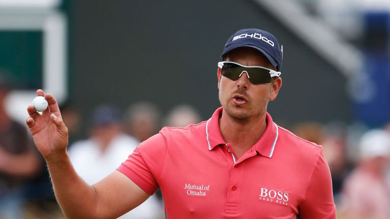 Stenson: sits seven strokes behind Woods ahead of final round at Firestone