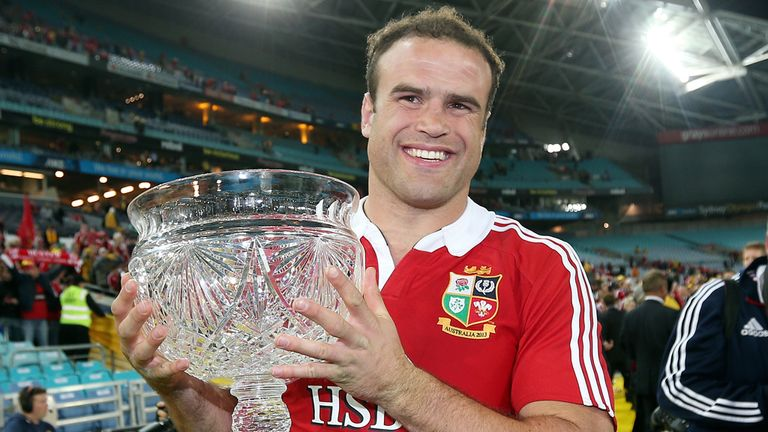 Jamie Roberts: Helped the Lions beat Australia