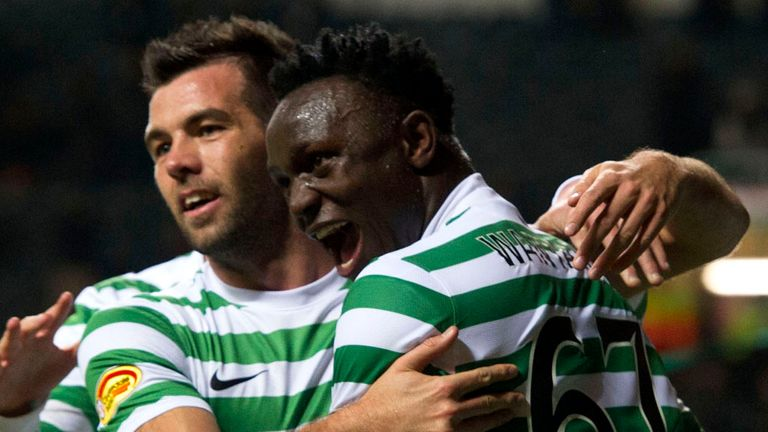 Victor Wanyama: The midfielder has been left 'a bit confused', according to Neil Lennon