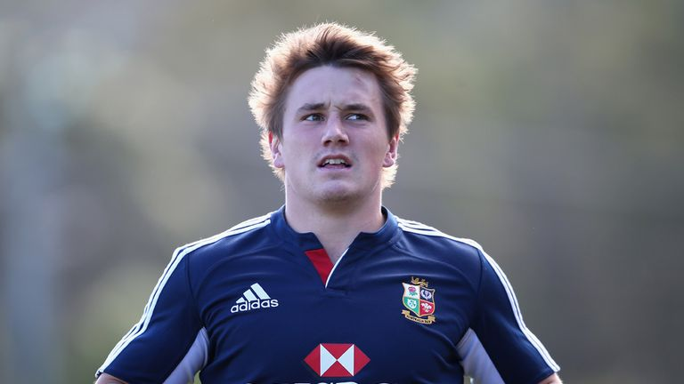 Jonathan Davies: Got the nod to line up alongside Jamie Roberts