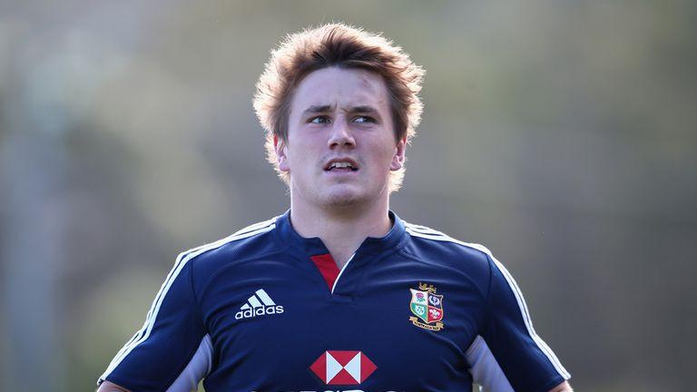 Jonathan Davies: Got the nod to line up alongside Jamie Roberts