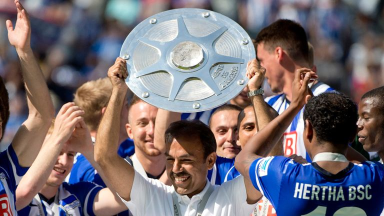 Jos Luhukay: Led Berlin to promotion last season