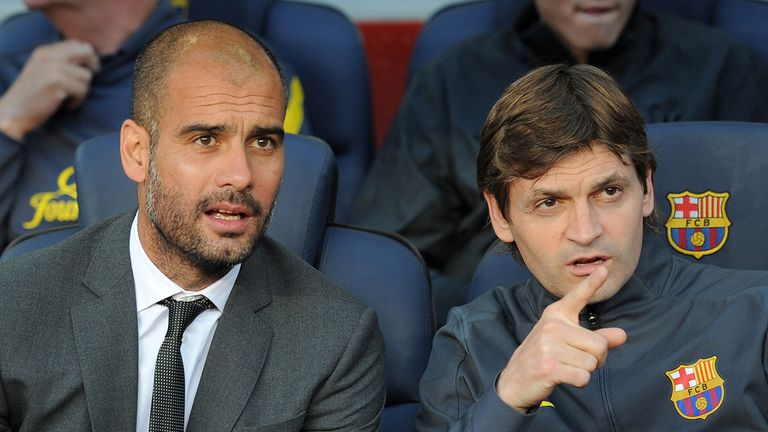 Pep Guardiola was replaced by Tito Vilanova last summer
