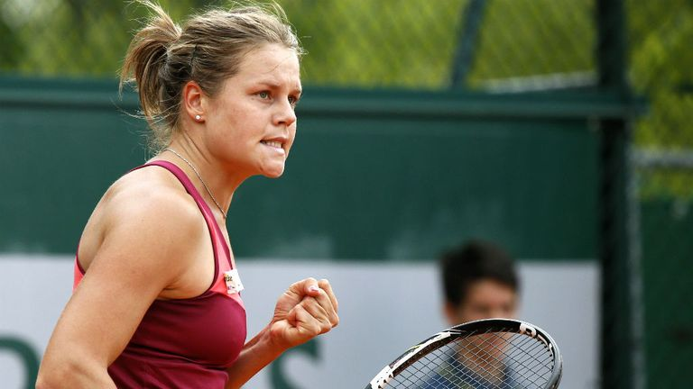 Karin Knapp: Her experience told against 19-year-old Annika Beck