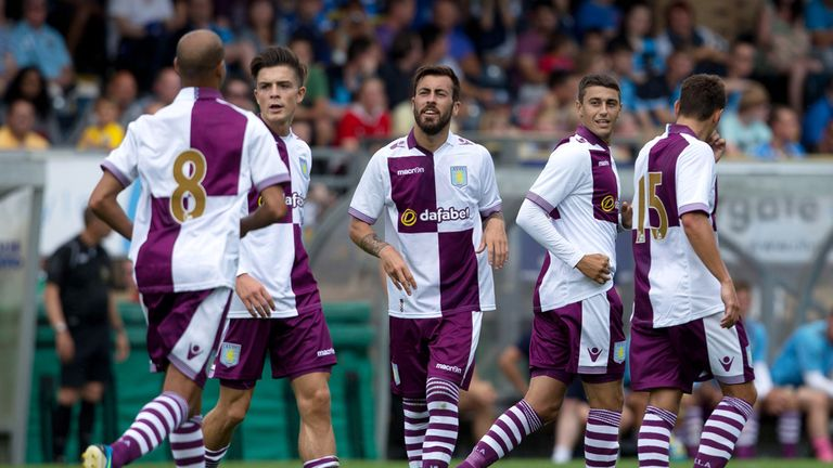 Matt Lowton: On target for Aston Villa in 2-2 draw with Wycombe