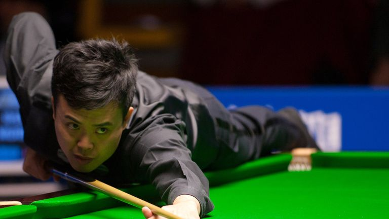 Marco Fu: in the hunt for the £125,000 first prize
