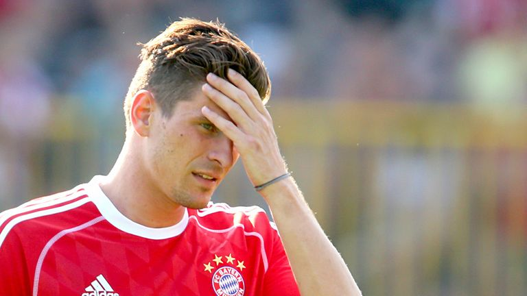 Mario Gomez: Mixed emotions about leaving Bayern for Fiorentina