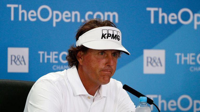 Phil Mickelson: The American feels he has solved his putting problems