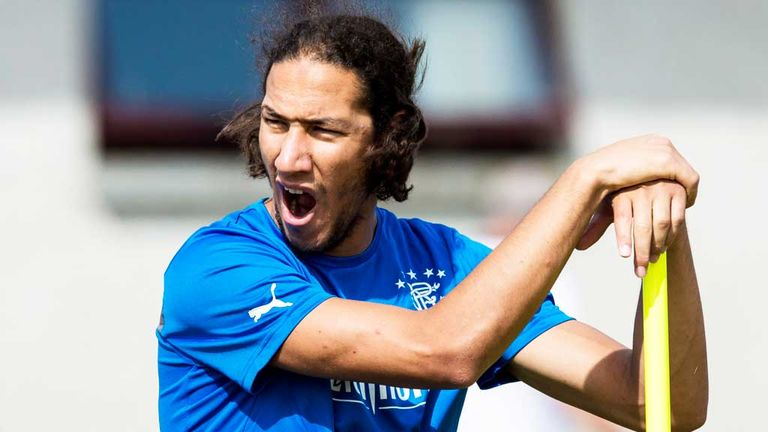 Bilel Mohsni: Former Southend defender has been on trial with Rangers