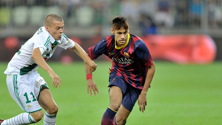 Neymar: Diagnosed with anaemia