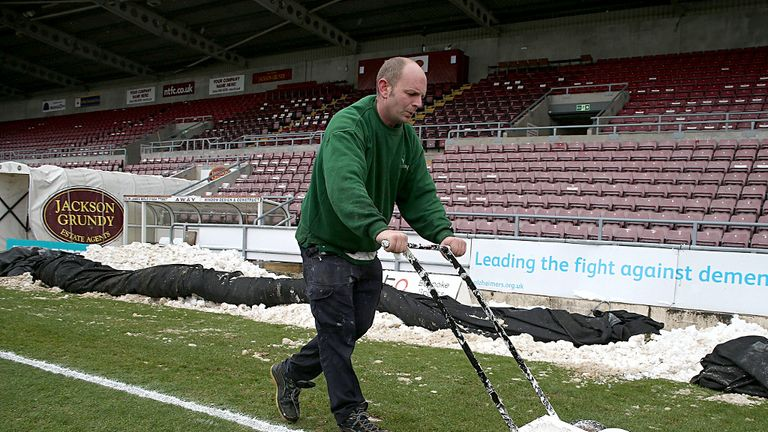 Sixfields Stadium: Set for a capacity increase