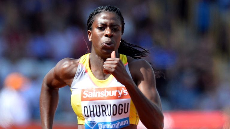 Christine Ohuruogu: Forced to settle for a fourth-place finish in Lausanne