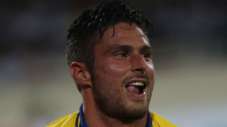 Olivier Giroud: Scored a hat-trick to take his tally to five goals in two games on tour