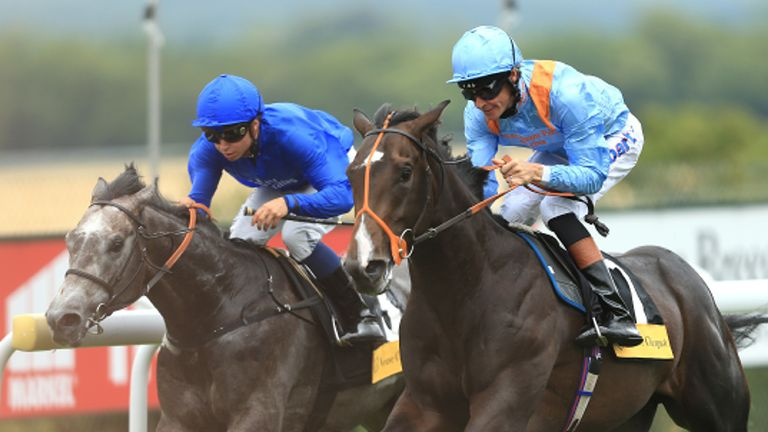 Toormore (right): Earned a mark of 122