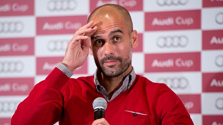 Pep Guardiola: Gearing up for the new Bundesliga season
