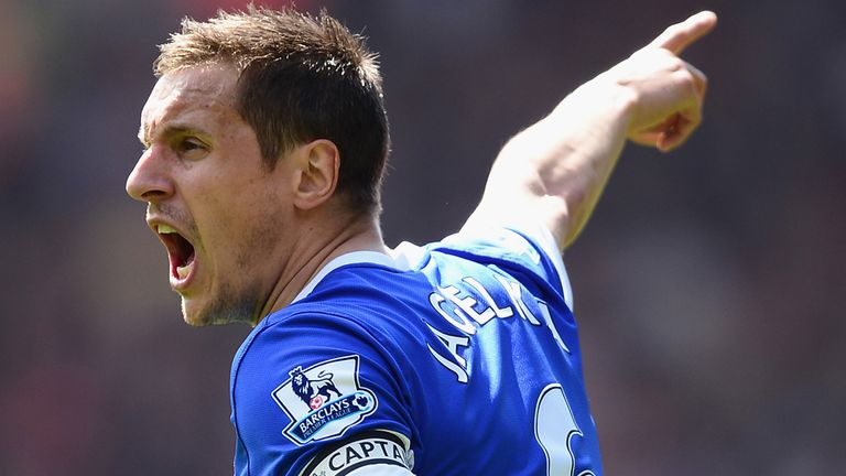 Phil Jagielka: Has faith in the Everton youngsters