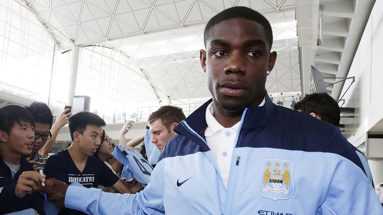 Micah Richards: Arriving in Hong Kong for Asia Trophy