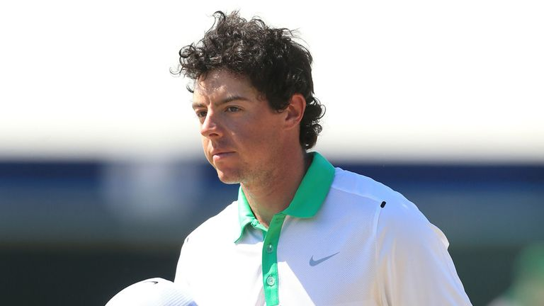 McIlroy: not won since victory at DP World Tour Championship in November