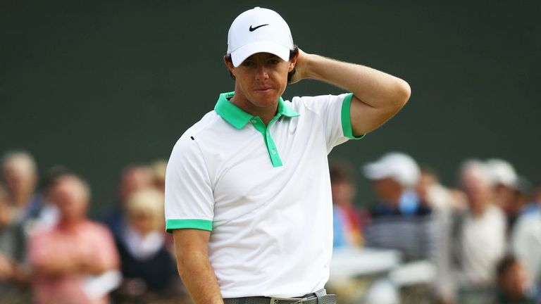 Rory McIlroy: Struggling from lack of confidence