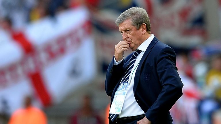 Roy Hodgson: Has presided over a drop in England's world ranking
