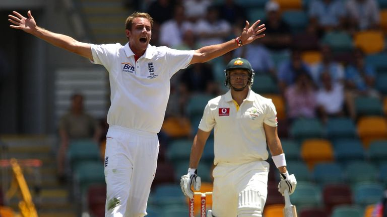 Broad: closing in on 200 Test wickets