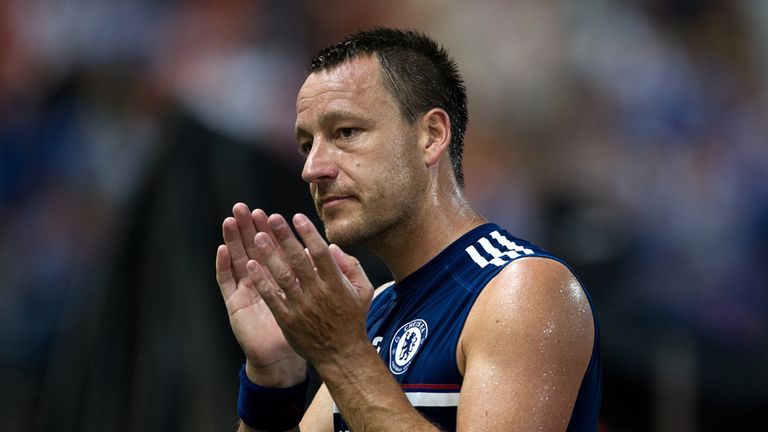 John Terry: Entering final year of Chelsea contract