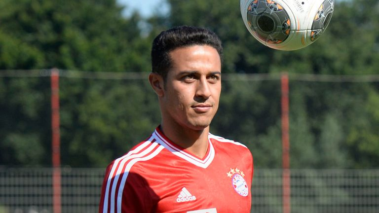Thiago Alcantara: Had been linked with move to Manchester United