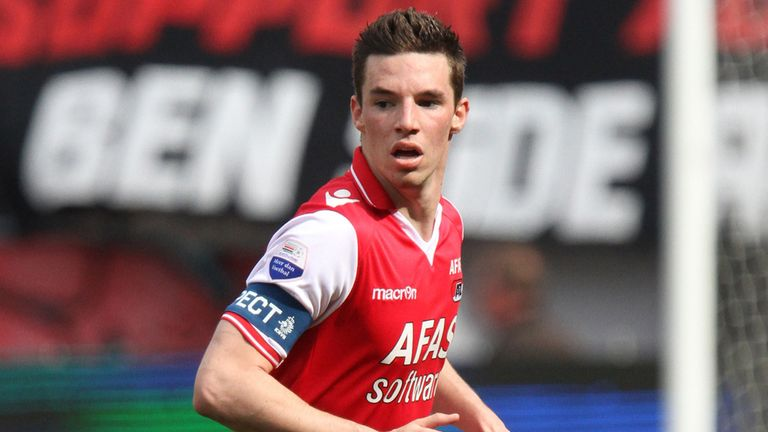 Nick Viergever: Netted for AZ Alkmaar