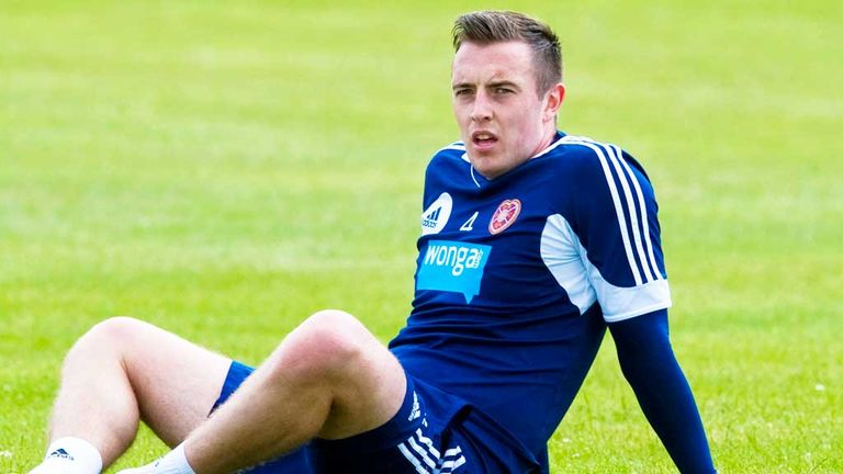 Danny Wilson: Will take over as Hearts captain in the new season