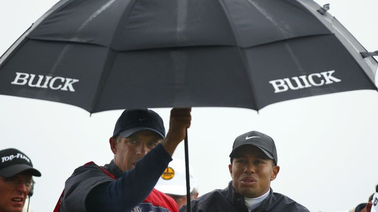 Woods: weather dealt a blow to his hopes in 2002
