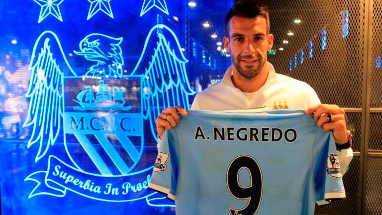 Alvaro Negredo: Prolific marksman with point to prove