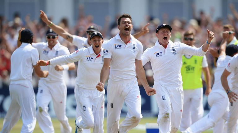 Jimmy Anderson bowled England to victory on a dramatic final day at Trent Bridge