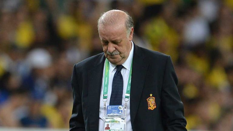 Vicente Del Bosque: Rare defeat for Spain boss