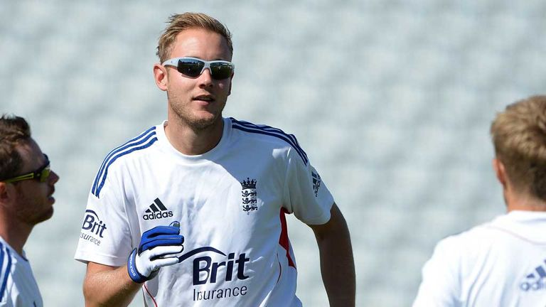 Stuart Broad: Has been passed fit to bowl on the second day at Trent Bridge
