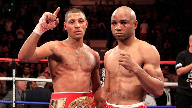 Kell Brook and Carson Jones: They meet again on Saturday