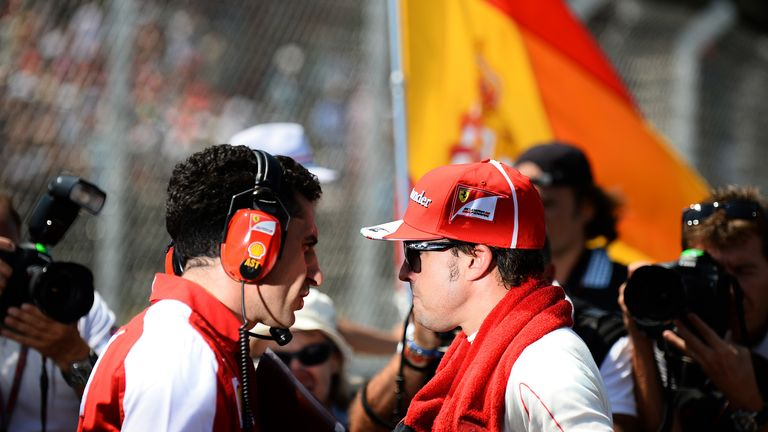 Fernando Alonso: Not trying to get out of Ferrari, insists Briatore