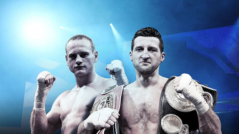 Carl Froch v George Groves: is at the Phones 4u Arena in Manchester on November 23