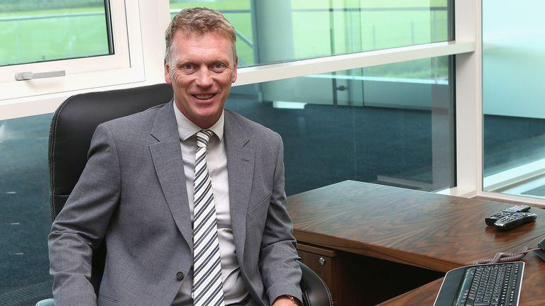 David Moyes: New Manchester United boss starts work at Carrington