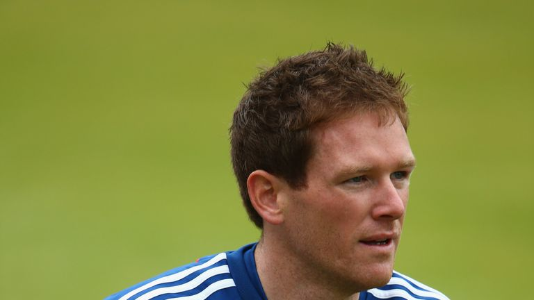 Eoin Morgan: Relaxed about favourite's tag