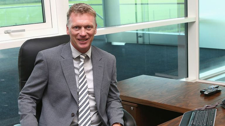 David Moyes: Preparing for first Manchester United press conference
