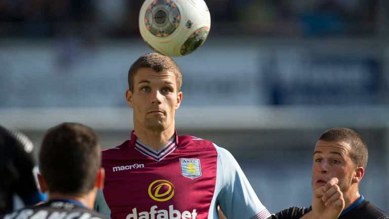 Nicklas Helenius: New Aston Villa striker would like to form a partnership with Christian Benteke