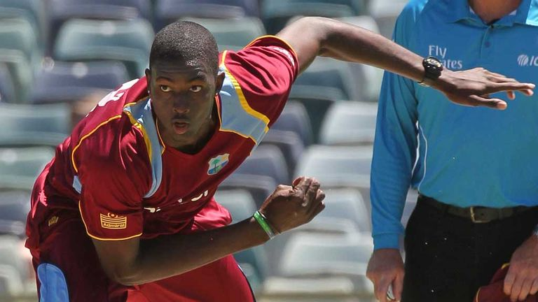 Jason Holder: West Indies have called up fast bowler to replace Ravi Rampaul