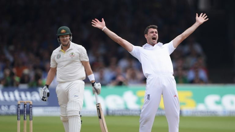 James Anderson: Looking forward to playing in the Old Trafford Test
